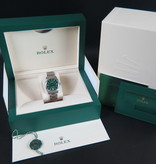Rolex  Rolex Oyster Perpetual 36 Green Dial 126000 NEW