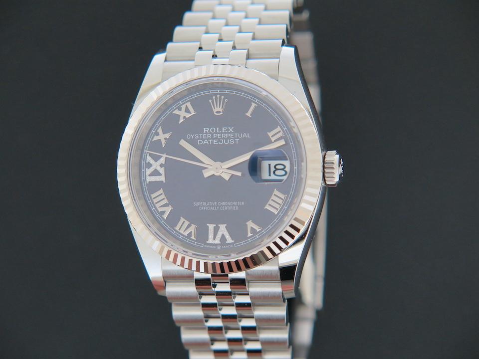 Rolex  Rolex Datejust Aubergine Diamond Dial 126234  NEW