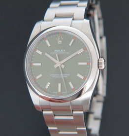 Rolex  Oyster Perpetual 34 Olive Dial 114200