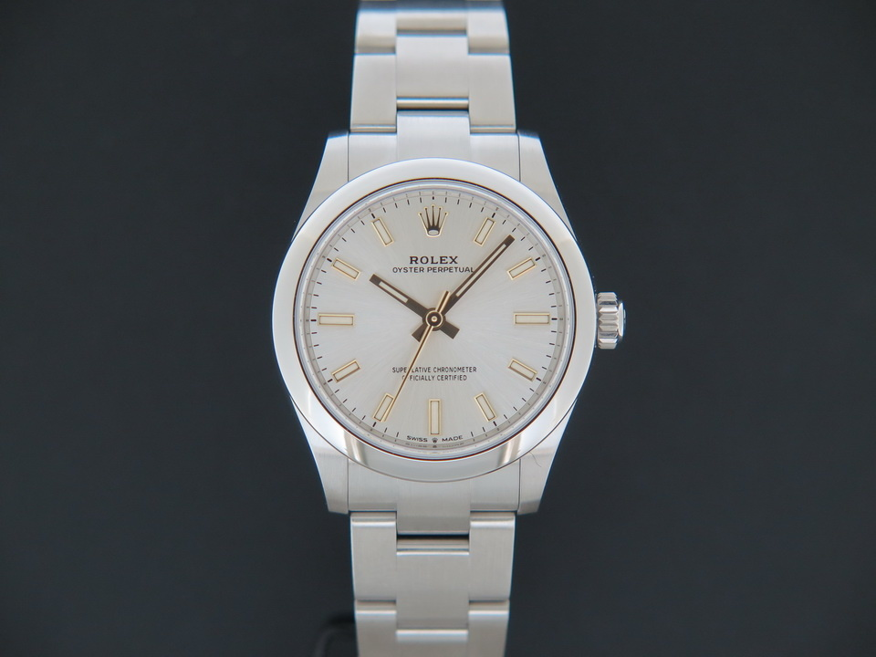 Rolex  Rolex Oyster Perpetual 31 Silver Dial 277200 NEW