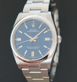 Rolex  Oyster Perpetual 36 Blue Dial 126000 NEW