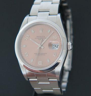 Rolex  Date Pink Dial 15200