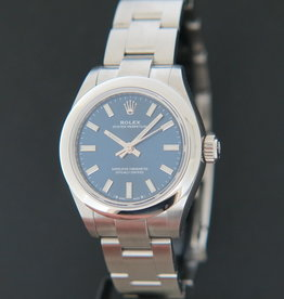Rolex  Oyster Perpetual 28 Blue Dial 276200