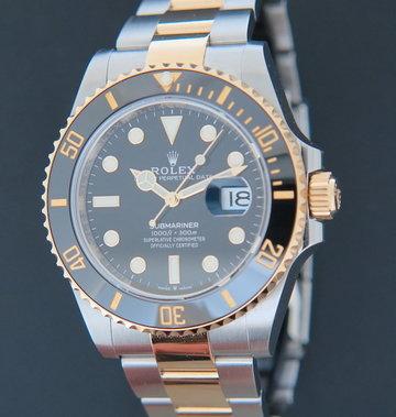 Rolex  Submariner Date Gold/Steel 126613LN