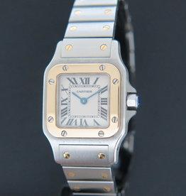 Cartier Santos Galbee Gold/Steel 1567