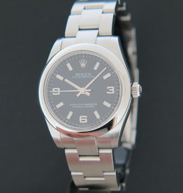 Rolex  Oyster Perpetual Black Dial 177200