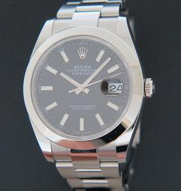 Rolex  Datejust 41 Black Dial 126300