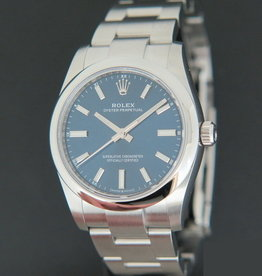 Rolex  Oyster Perpetual 34 Blue Dial 124200 NEW MODEL
