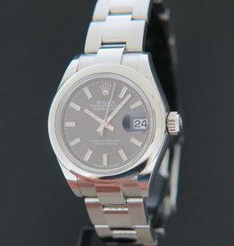 Rolex  Datejust Lady 28 Dark Grey Dial 279160