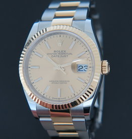 Rolex  Datejust Gold/Steel Champagne Dial 126233