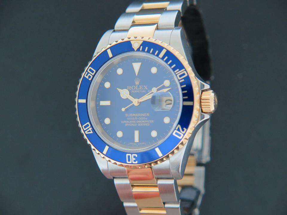 Rolex  Rolex Submariner Date 16613 Gold/Steel Z-Serial