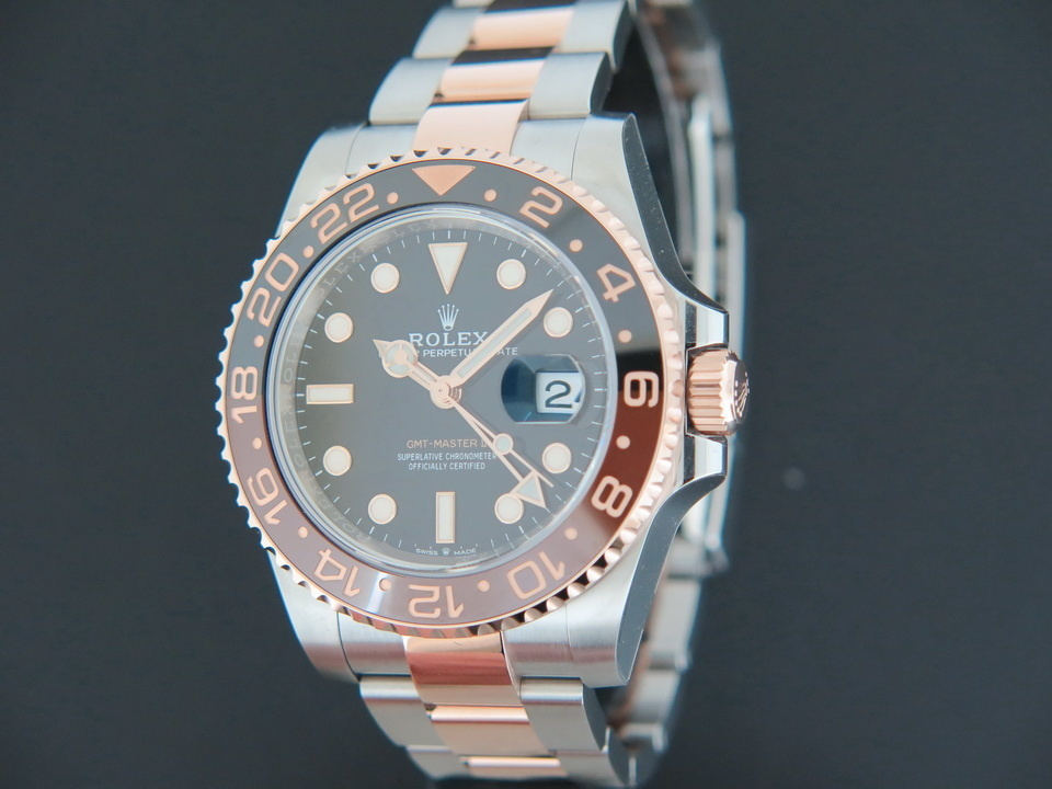 Rolex  Rolex GMT-Master II EVEROSE / STEEL NEW 126711CHNR ''ROOT BEER''