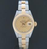 Rolex  Rolex Datejust Lady Gold/Steel Champagne 79173