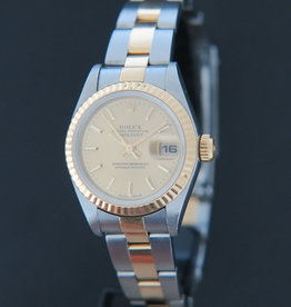 Rolex  Datejust Lady Gold/Steel Champagne 79173