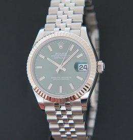 Rolex  Datejust 31 Green Dial 278274 NEW