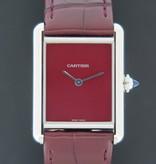 Cartier Cartier Tank Must Large Burgundy Dial WSTA0054 NEW