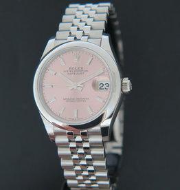 Rolex  Datejust 31 Dark Pink Dial 278240 NEW