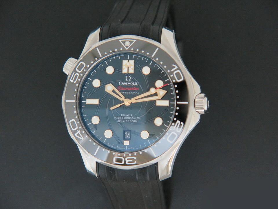 Omega Omega Seamaster Diver 300M James Bond Limited NEW 210.22.42.20.01.004