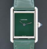 Cartier Cartier Tank Must Large Green Dial WSTA0056 NEW