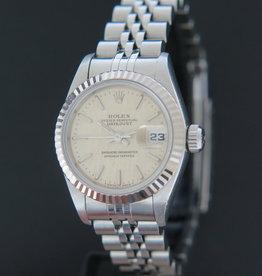 Rolex  Datejust Lady 69174  Silver Linen Dial