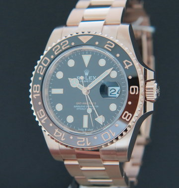 Rolex  GMT-Master II Everose Rootbeer NEW 126715CHNR