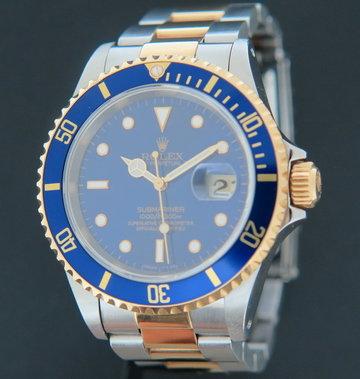 Rolex  Submariner Date 16613 Gold/Steel