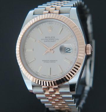 Rolex  Datejust 41 Everosegold/Steel Sundust Dial 126331
