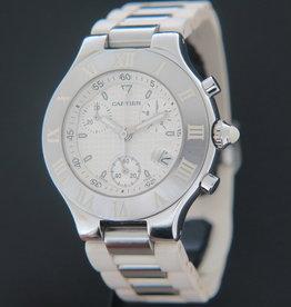 Cartier 21 Chronoscaph 2424