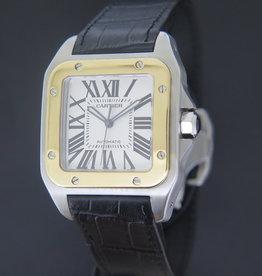 Cartier Santos 100 XL Gold/Steel 2656