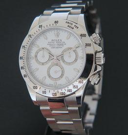 Rolex  Daytona White Dial 116520 V-Serial