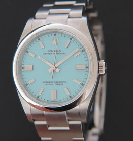 Rolex  Oyster Perpetual 36 Turquoise Dial NEW 126000