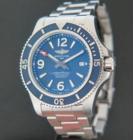Breitling Superocean II 44 Blue Dial A17367