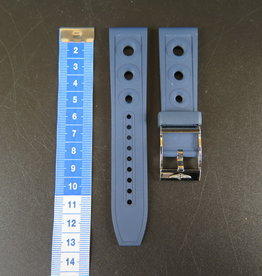 Breitling Ocean Racer II Blue Rubber Strap 22-20 With Clasp