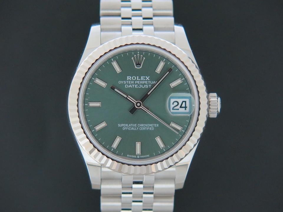 Rolex  Rolex Datejust 31 Green Dial 278274 NEW