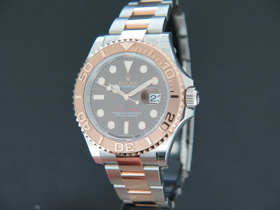 Rolex  Rolex Yacht-Master Everosegold/Steel Chocolate Dial 126621