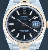 Rolex  Rolex Datejust 41 Gold/Steel Black Dial 126333 NEW