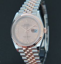 Rolex  Datejust Everose/Steel Rosé Diamond Dial NEW 126231