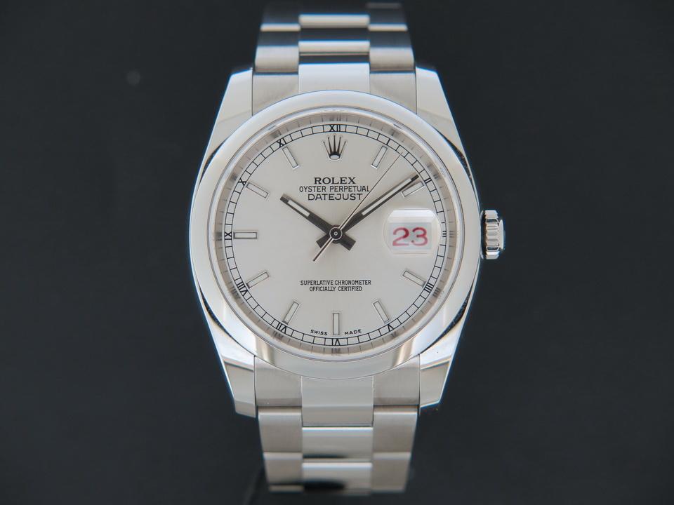 Rolex  Rolex Datejust Silver Dial 116200