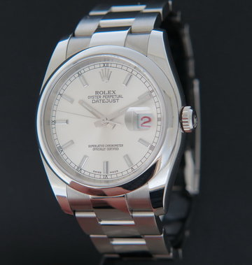 Rolex  Datejust Silver Dial 116200