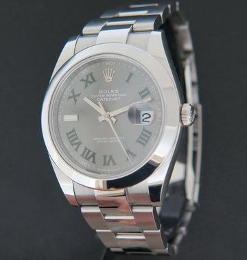 Rolex  Datejust 41 Slate Roman Dial 126300
