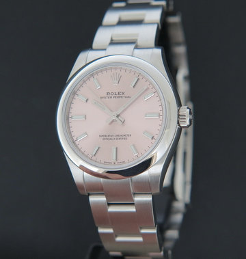 Rolex  Oyster Perpetual 31 Pink Dial 277200 NEW