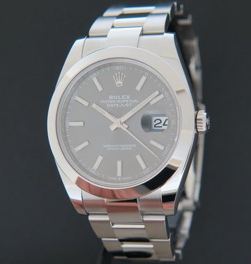 Rolex  Datejust 41 Slate Dial 126300 NEW