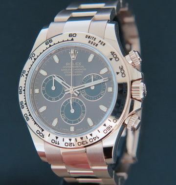 Rolex  Daytona Everose Chocolate Dial 116505  NEW