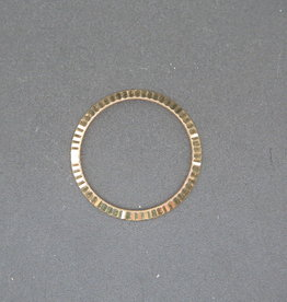 Rolex  Fluted Yellow Gold Bezel for 26mm
