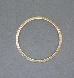 Rolex  Fluted Yellow Gold Bezel for 36mm