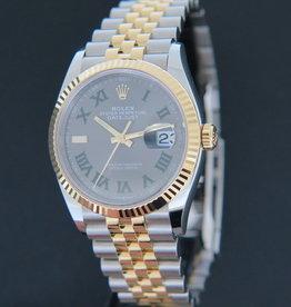 Rolex  Datejust Slate Dial NEW 126233