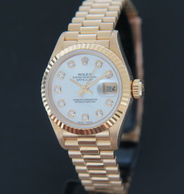 Rolex  Datejust Lady Yellow Gold MOP Diamond Dial 79178