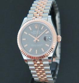 Rolex  Datejust 31 Everosegold/Steel Slate Dial NEW 278271