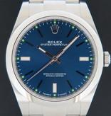 Rolex  Rolex Oyster Perpetual 39 Blue Dial 114300