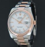 Rolex  Rolex Datejust Everose/Steel White Dial 116201
